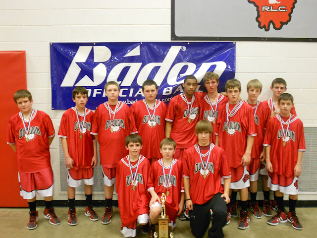 2012 - Class L Boys Basketball 2nd Place - DuQuoin