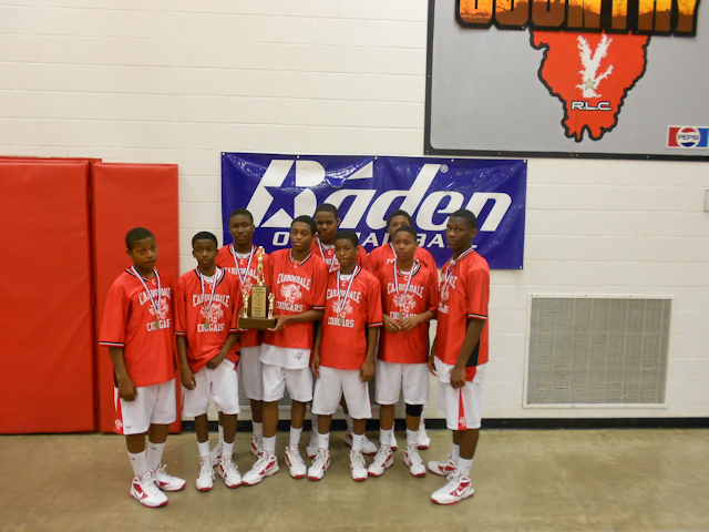 2012 - Class L Boys Basketball 3rd Place - Carbondale