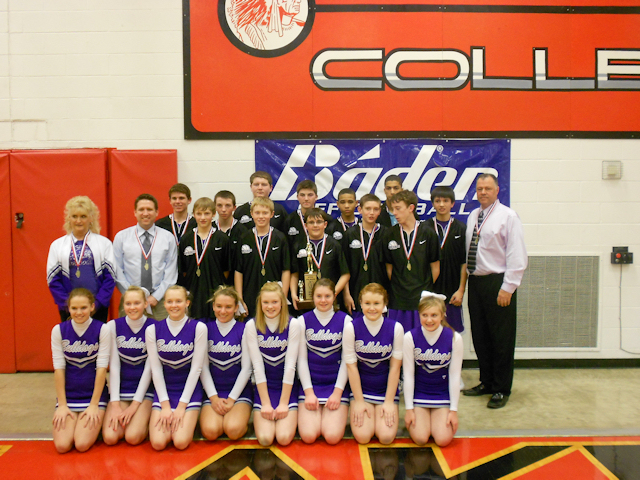 2012 - Class L Boys Basketball 4th Place - Harrisburg