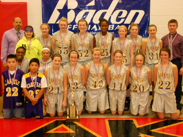 2012 - Class L Girls Basketball 4th Place - Carlyle