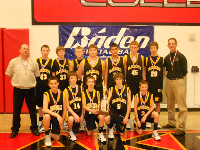 2012 - Class M Boys Basketball 3rd Place - Goreville