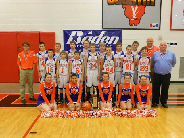 2012 - Class M Boys Basketball State Champion - Okawville