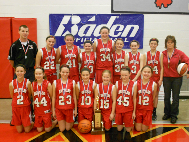 2012 - Class S Girls Basketball State Champion - Bartelso