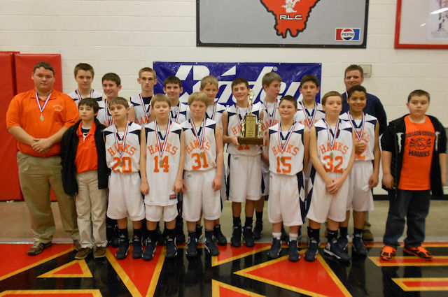 2013 Boys Basketball Class M 4th - Gallatin County