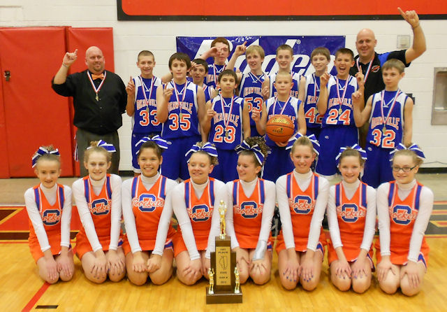 2013 Boys Basketball Class M Champion - Okawville