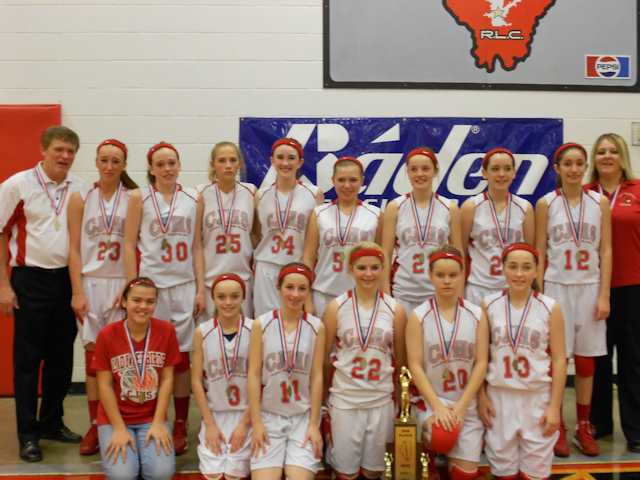 2013 Class L Girls Basketball 2nd - West Frankfort
