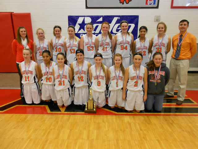 2013 Class L Girls Basketball 4th - Carterville