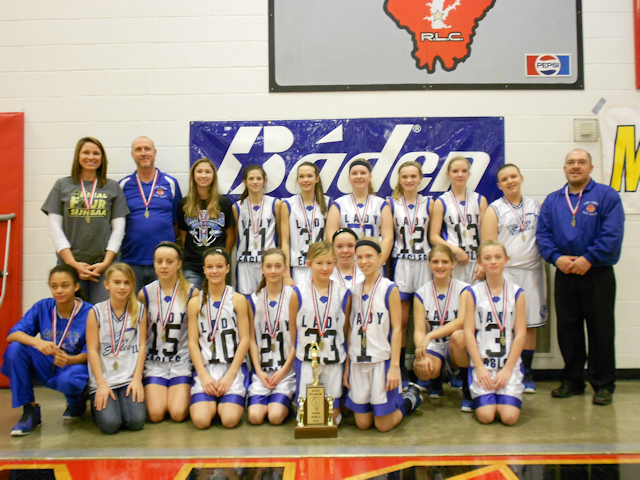 2013 Class S Girls Basketball 4th - Lick Creek