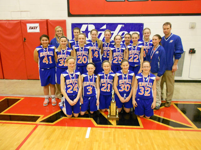 2014 Class M Girls Basketball 2nd - Okawville
