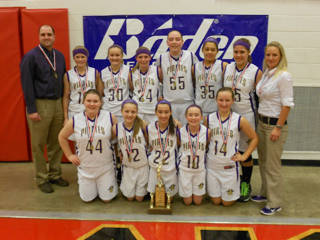 2014 Class M Girls Basketball 3rd - Valmeyer