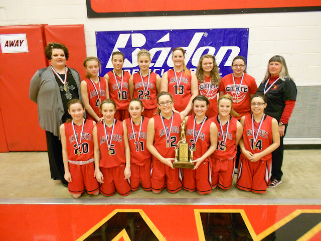 2014 Class M Girls Basketball 4th - Fairfield