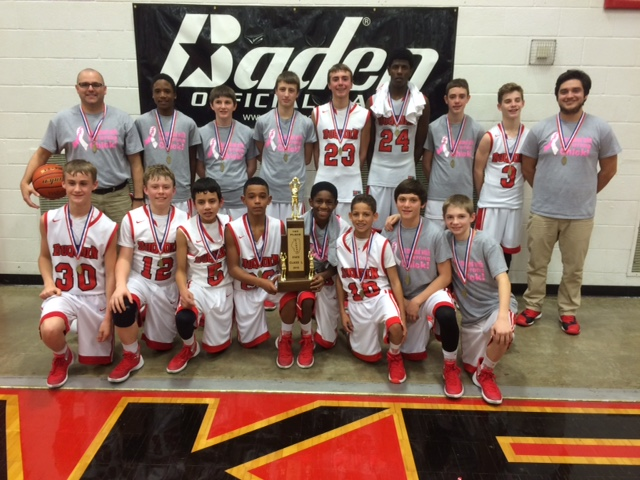 2016 Boys Basketball Class L Champions DuQuoin