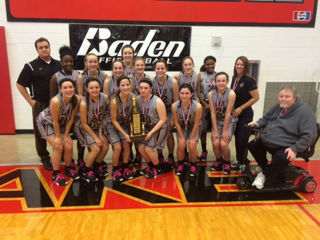 2016 Girls Basketball Class L 2nd Place Collinsville