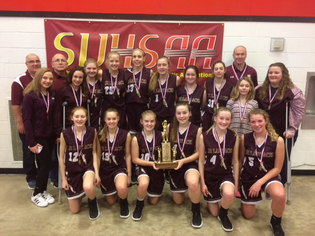 2017 Girls Class L Basketball 4th Place Mt Carmel