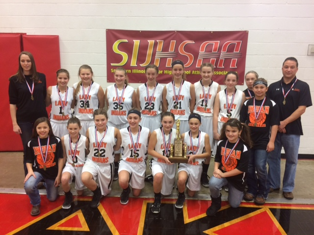 2017 Girls Class S Basketball 4th Place Tamaroa St. Bruno