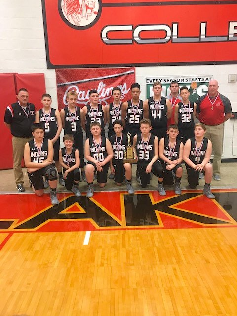 2018 M 4th Boys BB Johnston City