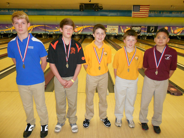 2012 Bowling Boys 11th-15th