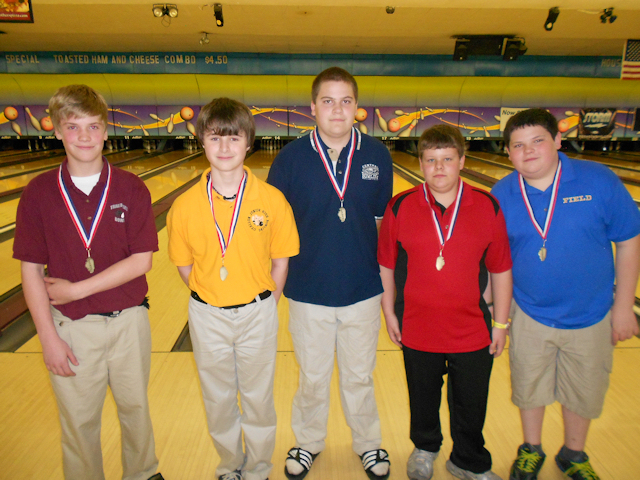 2012 Bowling Boys 1st-5th