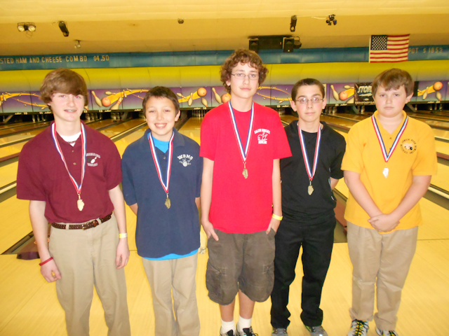 2012 Bowling Boys 6th-10th