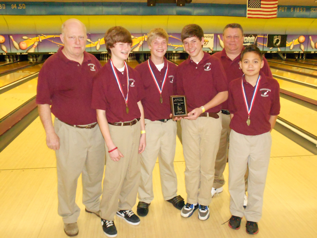 2012 Bowling Boys High Team - Collinsville