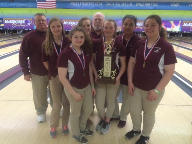 2016 Girls Bowling 2nd Collinsville