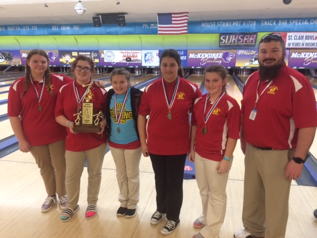2017 Anna 4th Girls Bowling