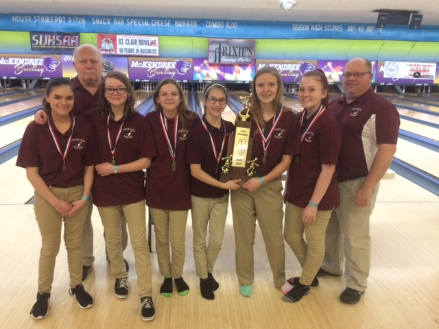 2017 Collinsville 1st Girls Bowling