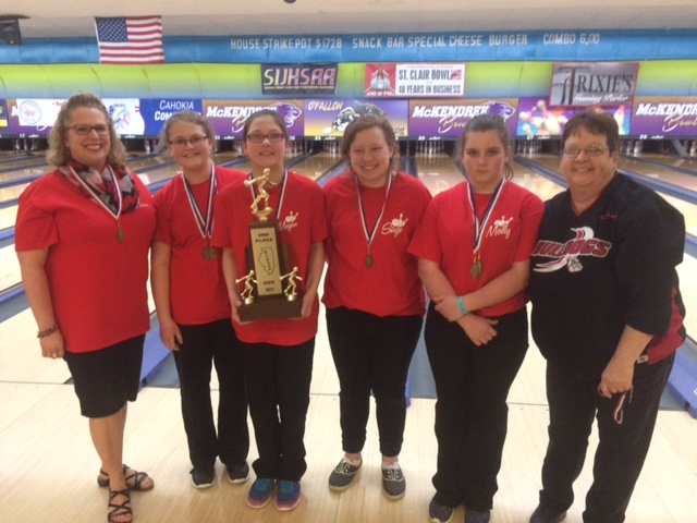 2017 Highland 2nd Girls Bowling