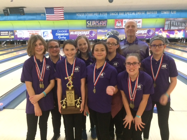 2017 Mascoutah 3rd Girls Bowling