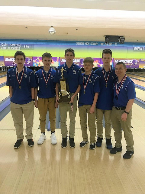 2018 Boys Bowling 1st Wolf Branch