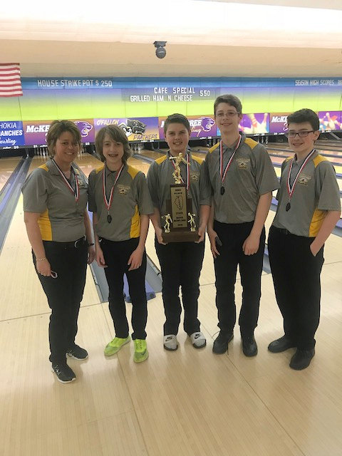 2018 Boys Bowling 2nd Fulton OFallon