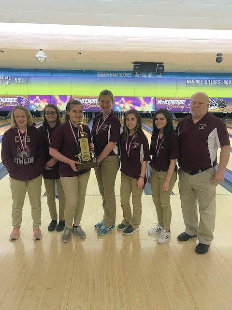 2018 Girls Bowling 2nd Collinsville