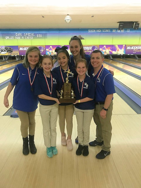 2018 Girls Bowling 3rd Wolf Branch