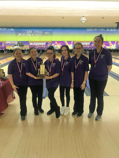 2018 Girls Bowling 4th Lebanon