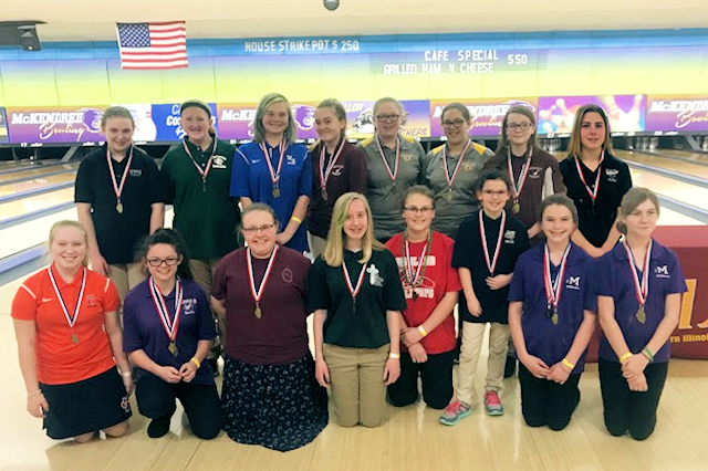 2018 Girls Bowling Top 15