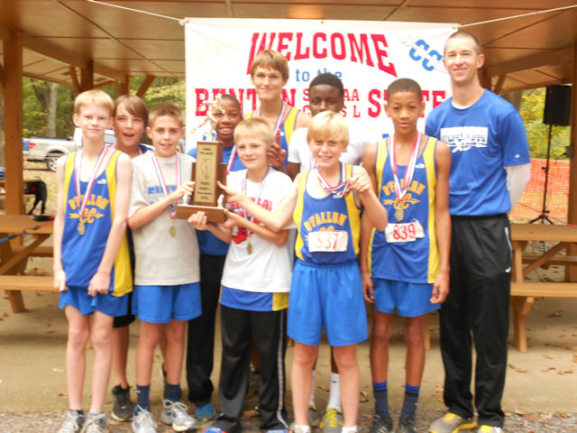 2012 Class L Boys XC-2nd Place-Fulton-OFallon
