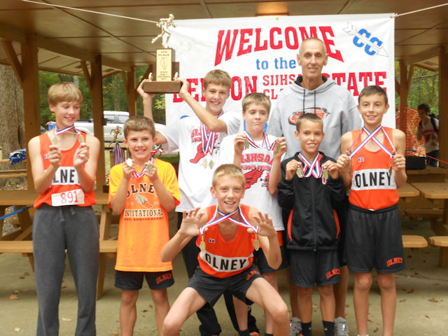 2012 Class L Boys XC-4th Place-Olney