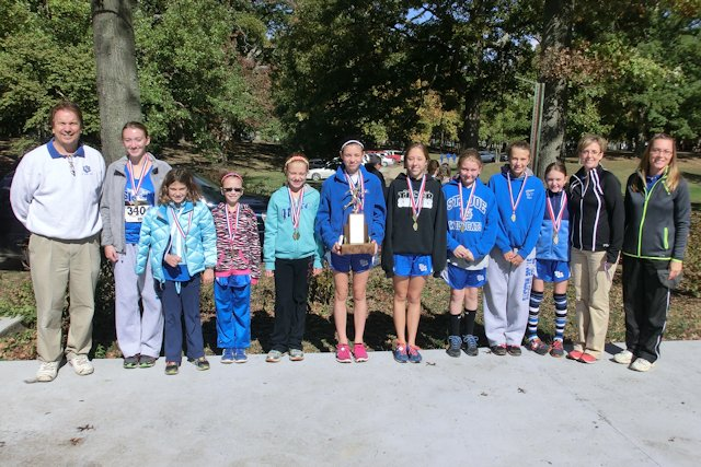 2013 SIJHSAA Class S Girls 4th - St Joseph - Olney