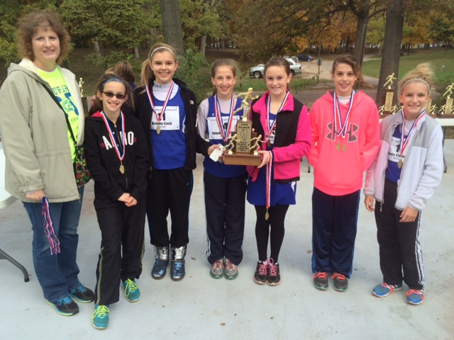 2014-Class-S-Girls-Cross-Country-4th-Place-Bluford