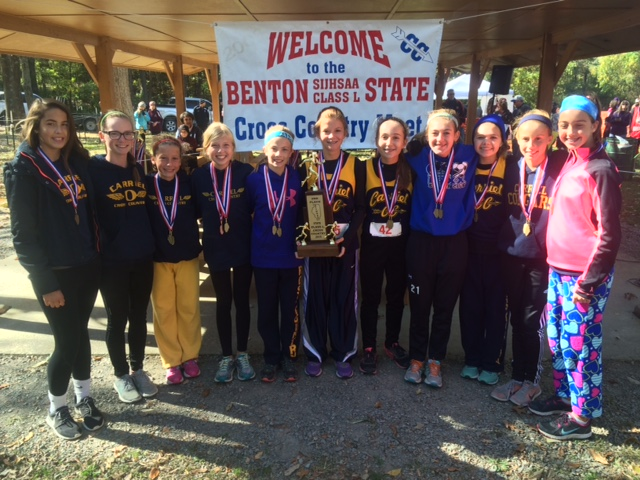2015 Class L Cross Country Girls 2nd Place - OFallon - Carriel