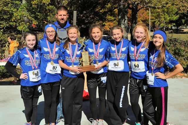 2015 Class S Cross Country Girls 3rd Place - Nashville