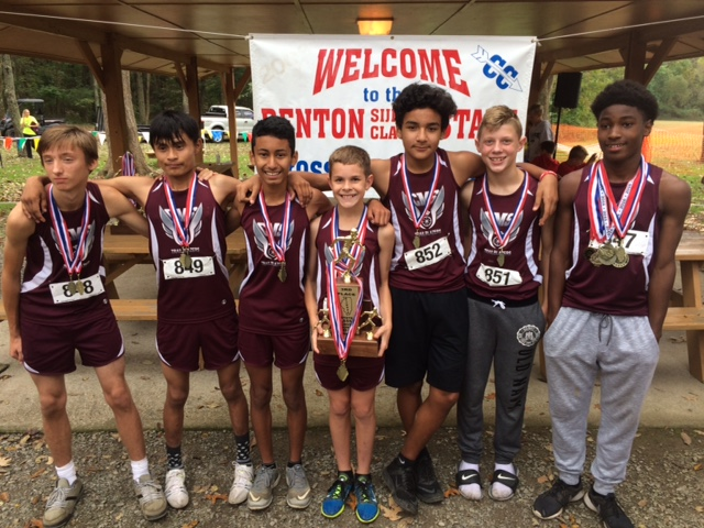2016 Boys Class L Cross Country 3rd - Collinsville