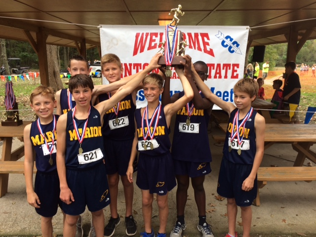 2016 Boys Class L Cross Country 4th - Marion