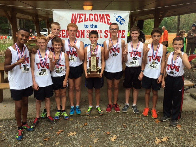 2016 Boys Class L Cross Country State Champions - Triad