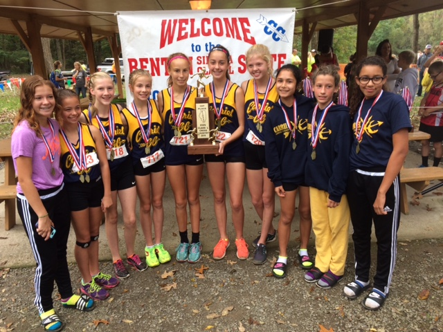 2016 Girls Class L Cross Country State Champions - O'Fallon Carriel