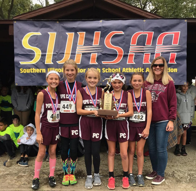 2018 SIJHSAA Class S Girls 3rd Place Pope County