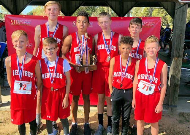 2019 SIJHSAA Boys Cross Country Class L 4th Place West Frankfort