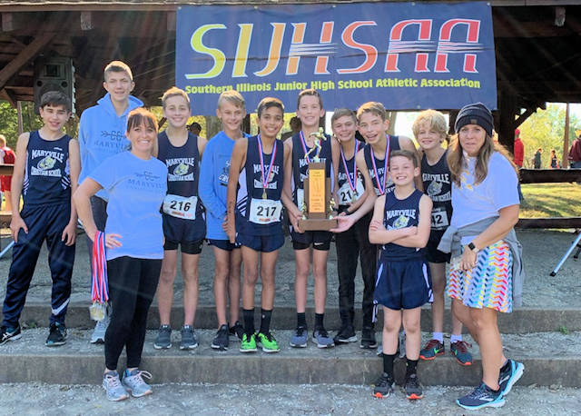 2019 SIJHSAA Boys Cross Country Class S 1st Place Maryville Christian