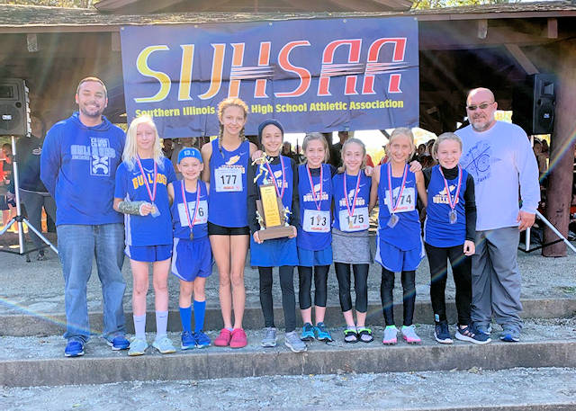 2019 SIJHSAA Girls Cross Country Class S 2nd Place Jonesboro