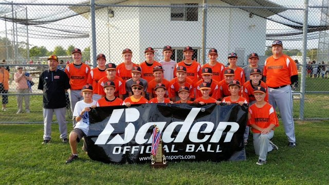 2015 Baseball Class L 2nd Place - Waterloo